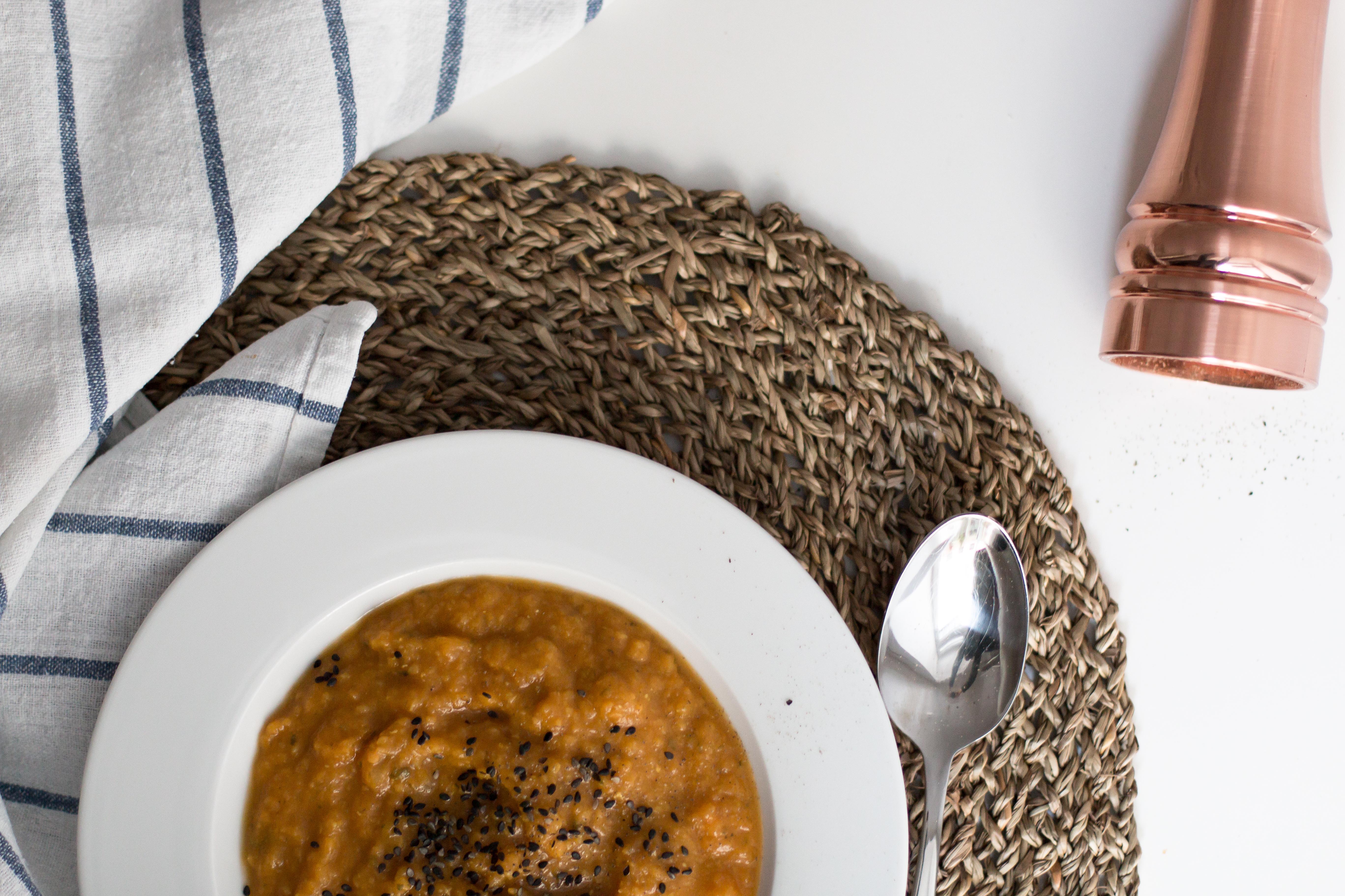 REZEPT: Butternut-Kürbis-Suppe | vegan