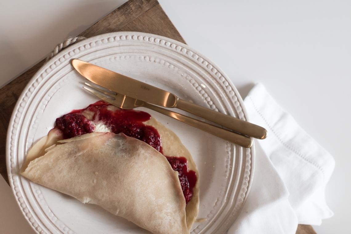 REZEPT: Vegane Palatschinken/Pfannkuchen