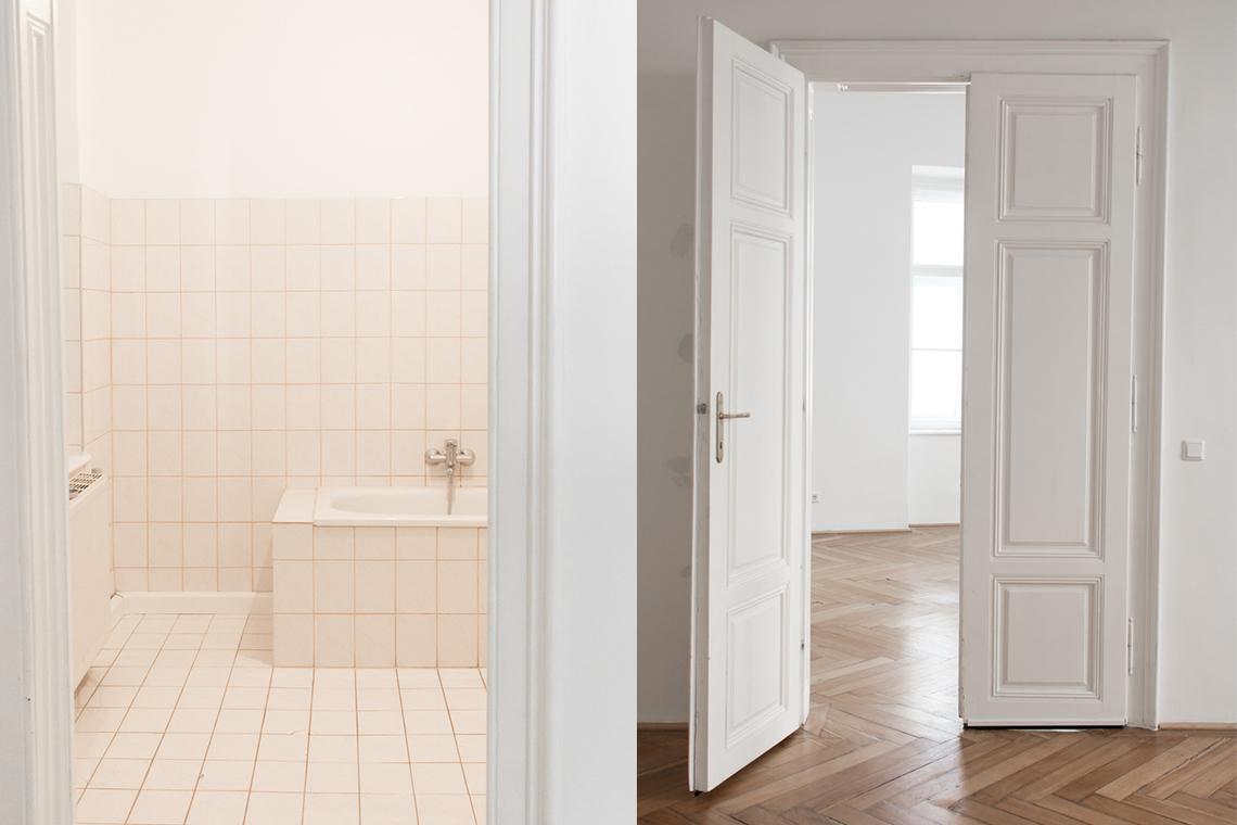 WOHNUNG: Neue Wohnung & Vorher-Bilder