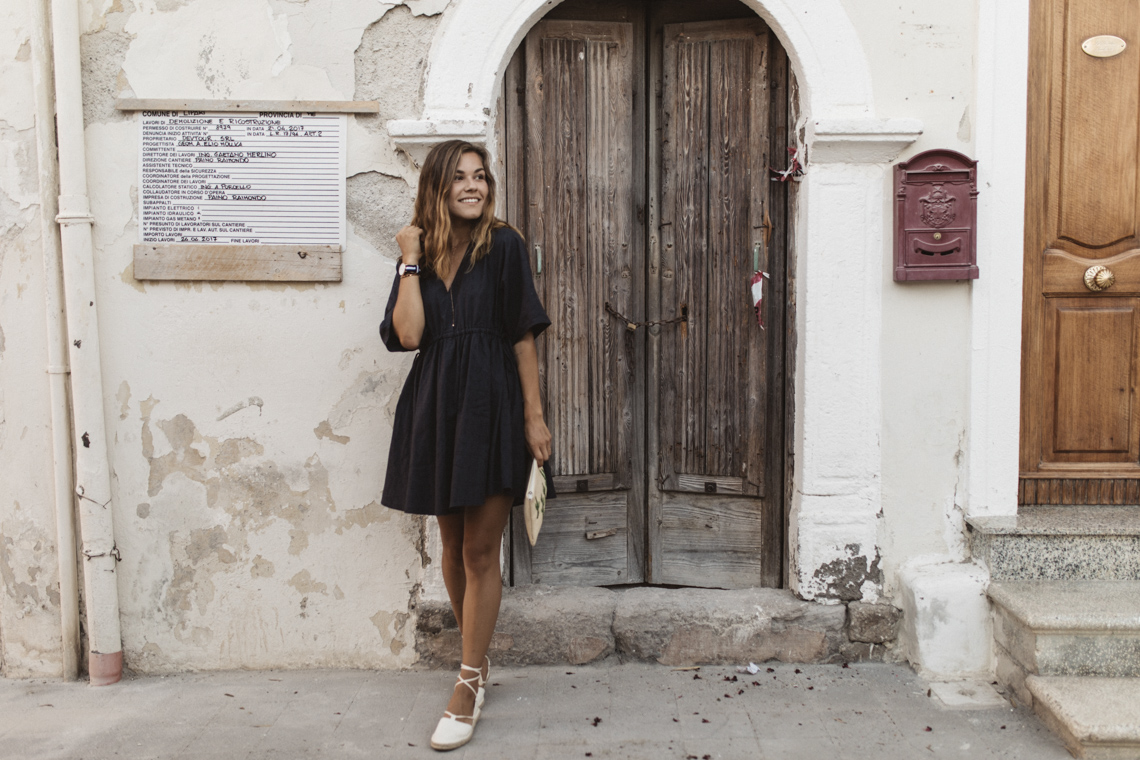 italien, outfit, oversized, dress, kleid, annalaurakummer