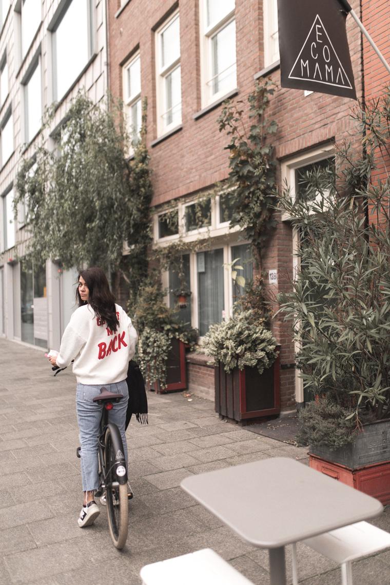 annalaurakummer, ecomama, amsterdam, restaurants, vegan, hostelworld, berriesandpassion, nina, travel guide