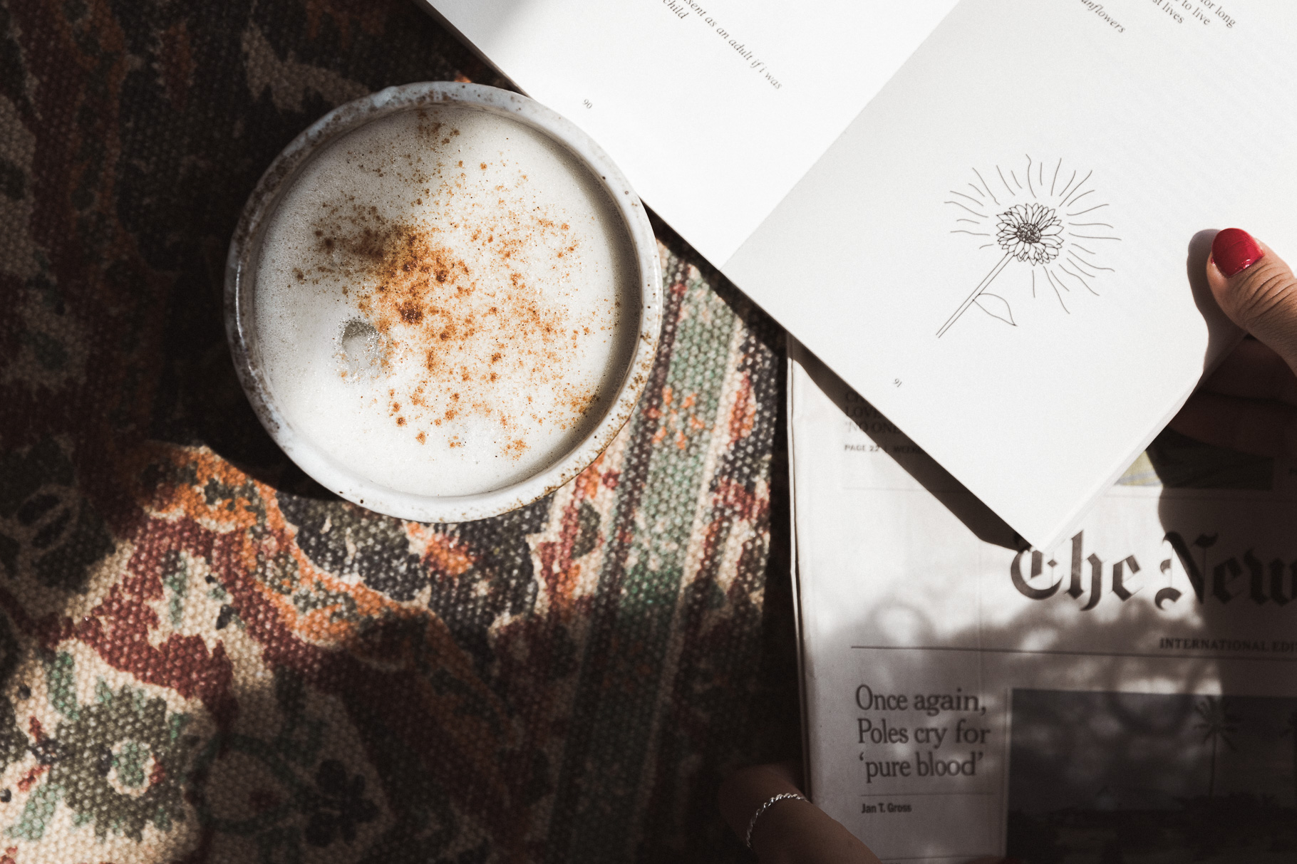 annalaurakummer, hanna gassner, morgenroutine, matcha latte