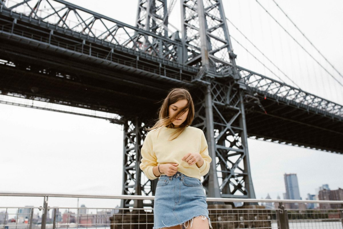 Outfit: The Yellow Sweatshirt