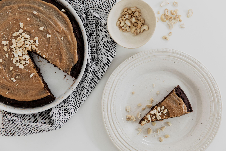 annalaurakummer, rezept, brownie, torte, kuchen, banane, peanut